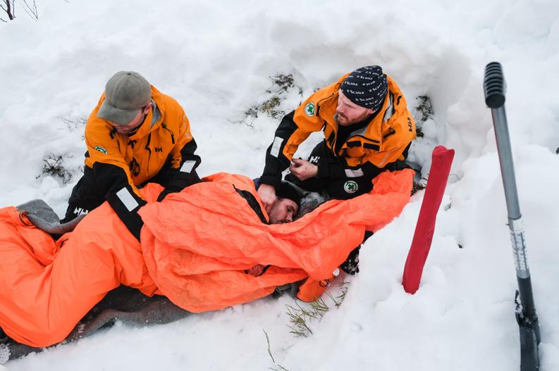 Disse førstehjelpstiltakene gjelder ved nedkjøling!
